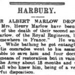 Obituary of Albert Marlow, Coventry Herald, 11 August 1916