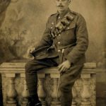 Photograph of Albert Marlow in uniform