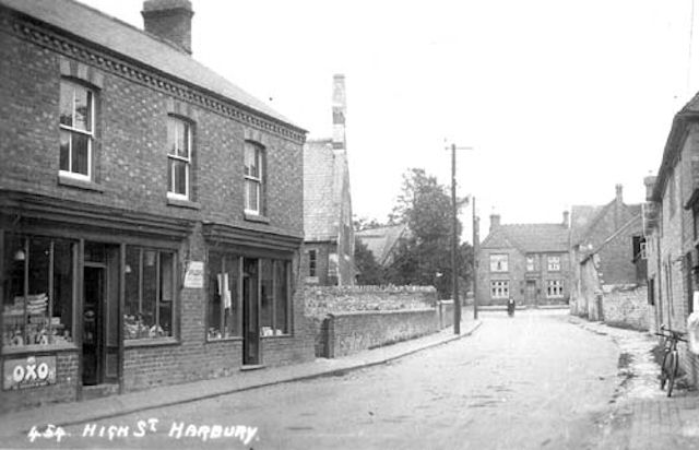 High Street, Harbury, c. 1910