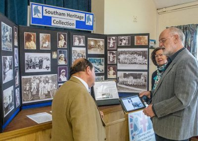 Southam Heritage Collection in the village hall