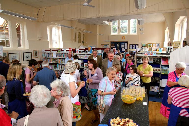 Inside Harbury Library